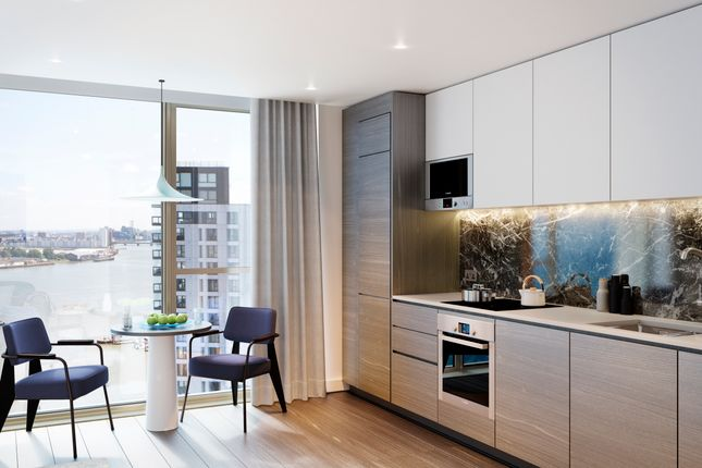 Thumbnail Flat for sale in The Lighterman, Greenwich Peninsula, London SE10, London,