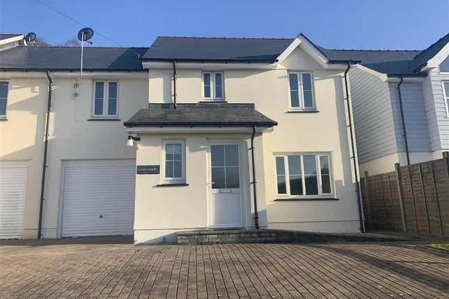 Thumbnail Semi-detached house for sale in Heol Y Fedwen, Ciliau Aeron, Lampeter