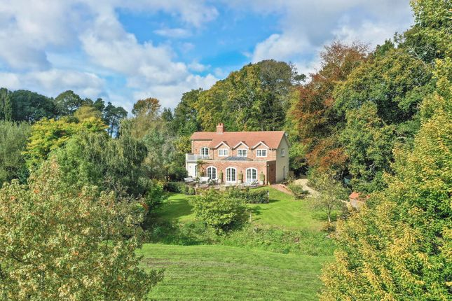 Thumbnail Detached house for sale in Castle Hill Lane, Burley, Ringwood