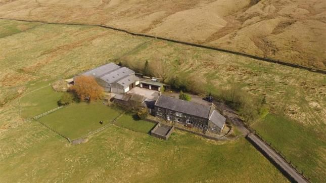 Thumbnail Equestrian property for sale in Sisley Lane, Todmorden, West Yorkshire