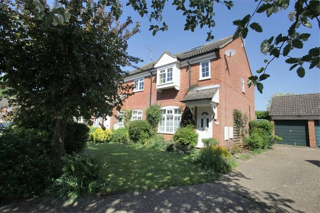 Thumbnail End terrace house for sale in Old School Close, Codicote, Hitchin, Hertfordshire