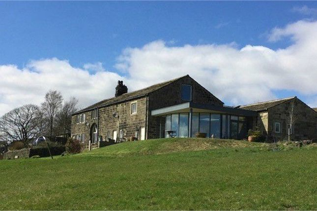 Thumbnail Detached house for sale in Cally Hall, Whirlaw Common, Todmorden, West Yorkshire