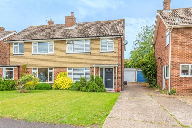 Thumbnail Semi-detached house for sale in Chaseside Avenue, Twyford, Reading, Berkshire