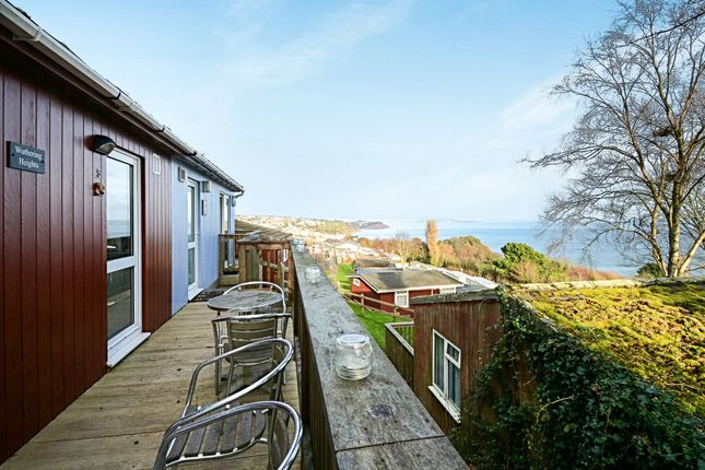 Thumbnail Lodge for sale in Torquay Road, Shaldon, Teignmouth