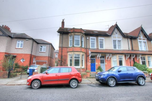 Thumbnail Terraced house for sale in Roseworth Crescent, Gosforth, Newcastle Upon Tyne