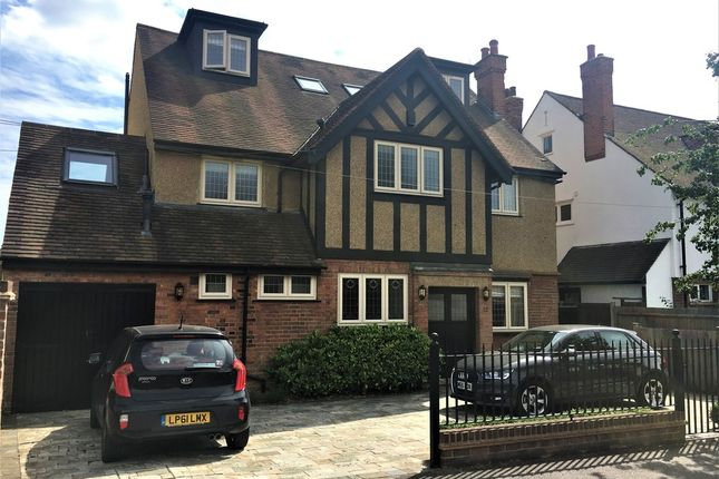 Thumbnail Detached house for sale in Cassiobury Park Avenue, Watford