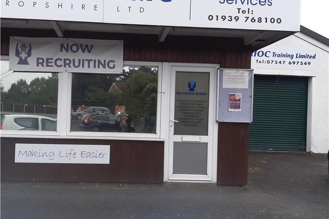 Thumbnail Office to let in Alpine House Drayton Road, Shawbury, Shropshire
