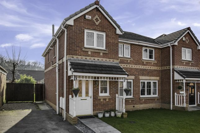 Thumbnail Semi-detached house for sale in Crossbrook Way, Milnrow