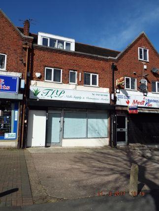 Thumbnail Retail premises for sale in 217 Sandwell Road, Birmingham