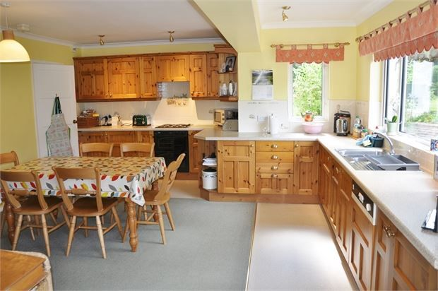 Dining Kitchen & Family Room