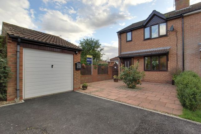 Thumbnail Semi-detached house for sale in Scotts Garth Close, Tickton, Beverley