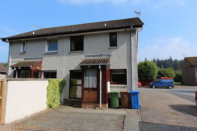 Thumbnail Flat for sale in 24 Lochlann Crescent, Culloden, Inverness