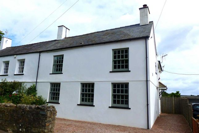 Thumbnail Semi-detached house for sale in Littledale, Welsh Street, Chepstow