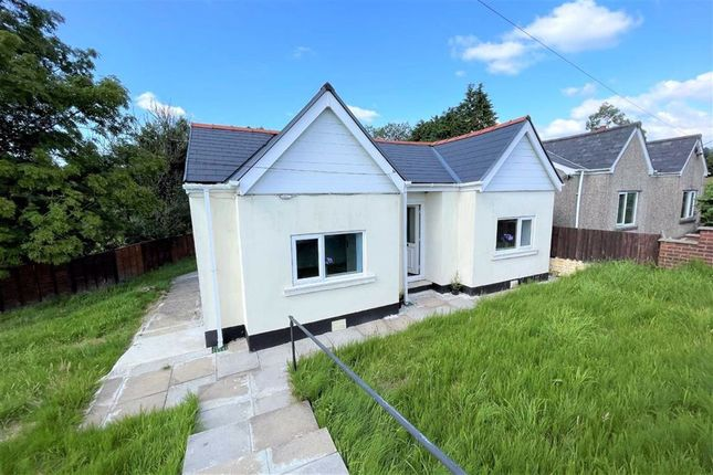 Thumbnail Detached bungalow for sale in Coelbren, Neath