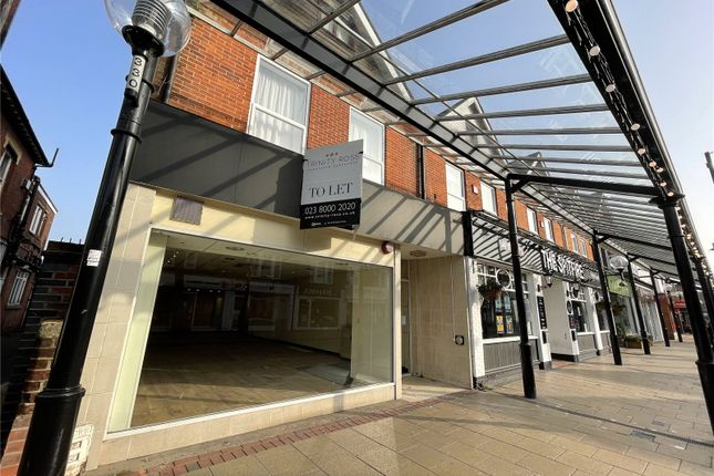 Retail premises for sale in High Street, Eastleigh