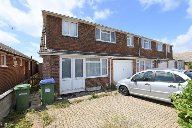 Thumbnail End terrace house to rent in Friars Avenue, Peacehaven