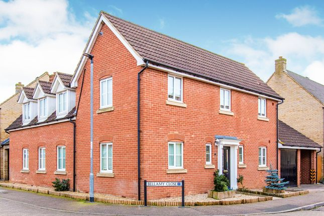 Thumbnail Detached house for sale in Bellamy Close, Eynesbury, St. Neots
