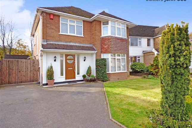 Thumbnail Detached house for sale in Meadow Close, Blythe Bridge, Stoke-On-Trent