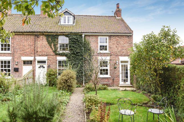 Thumbnail End terrace house for sale in Main Street, Alne, York