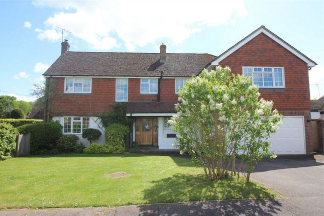 Thumbnail Detached house for sale in Crabtree Gardens, Headley, Bordon