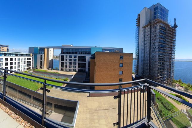 Thumbnail Flat to rent in Davaar House, Prospect Place, Cardiff