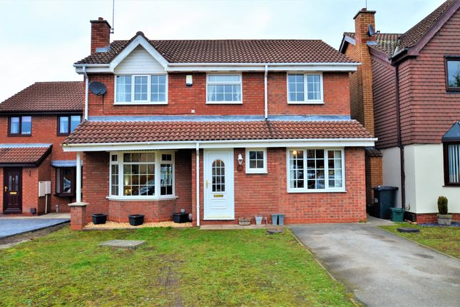 Thumbnail Detached house for sale in Crusader Drive, Sprotbrough, Doncaster