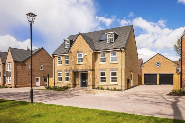 """Thumbnail Detached house for sale in """"Fletcher"""" at Wergs Road, Tettenhall, Wolverhampton"""