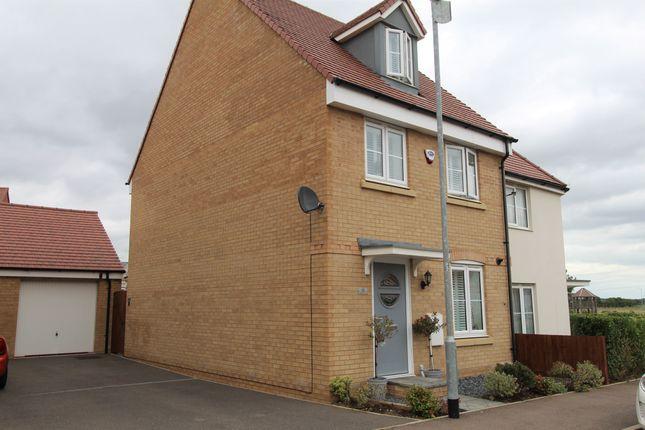Semi-detached house for sale in Herschel Green, Biggleswade