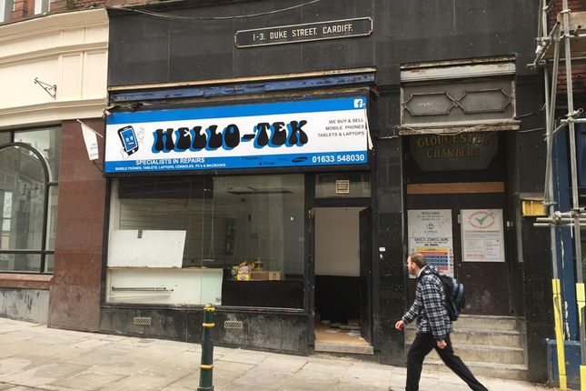 Thumbnail Retail premises to let in 2A Skinner Street, Newport, Newport