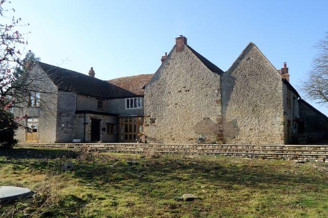 Thumbnail Farmhouse for sale in Higham Park Farmhouse, Higham Park Road, Rushden, Northamptonshire