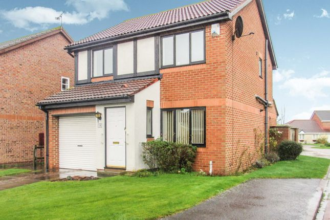 Thumbnail Detached house for sale in Boulmer Avenue, Cramlington