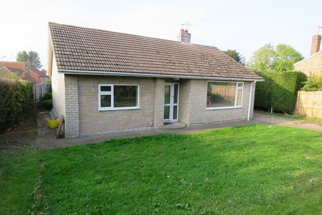 Thumbnail Detached bungalow to rent in High Street, Reepham, Lincoln