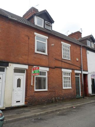 Thumbnail Terraced house to rent in Sherwood Road, Sutton-In-Ashfield