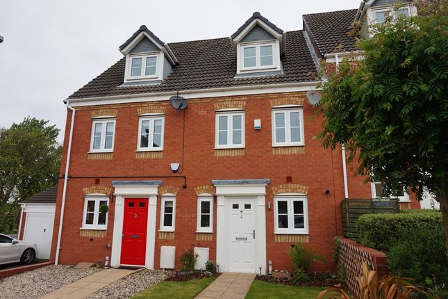 Thumbnail Terraced house for sale in Russell Close, Wilnecote, Tamworth