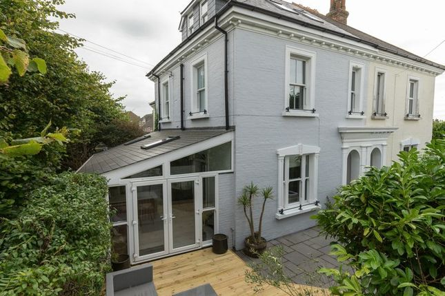 Thumbnail Semi-detached house for sale in Pound Farm Road, Chichester