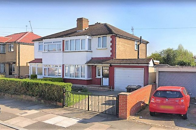 Thumbnail Semi-detached house to rent in Adrienne Avenue, Southall