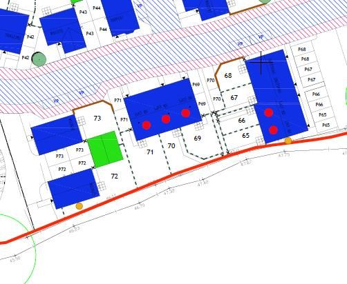Site Plan.Png of Duncan Drive, Lydney GL15
