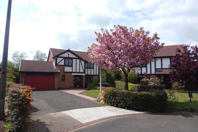 Thumbnail Detached house for sale in Ripon Close, Cramlington