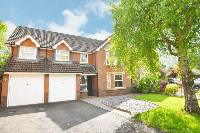 Thumbnail Detached house for sale in Greytree Crescent, Dorridge, Solihull