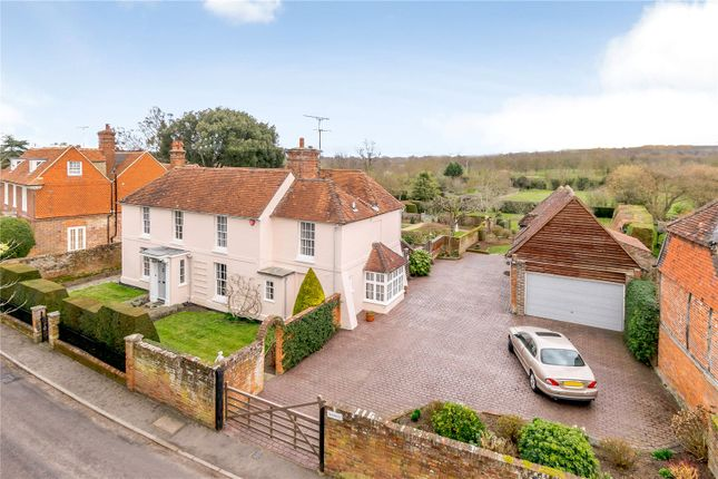 Thumbnail Detached house for sale in Dippenhall Street, Crondall, Farnham, Surrey