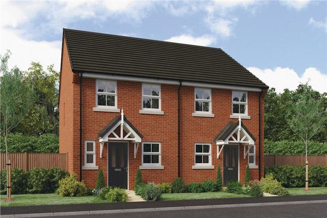 """Thumbnail Mews house for sale in """"Rendell"""" at Clappers Lane, Bracklesham Bay, Chichester"""