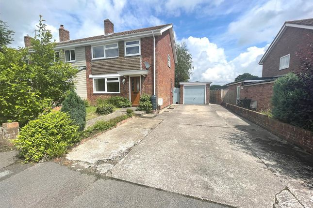 Thumbnail Semi-detached house for sale in Millbrook Close, Child Okeford, Blandford Forum