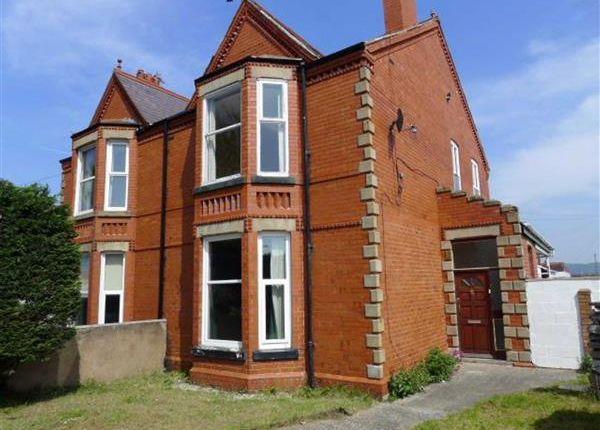 Thumbnail Flat to rent in Rhuddlan Road, Rhyl