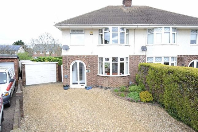 Thumbnail Semi-detached house for sale in Saxby Crescent, Wellingborough