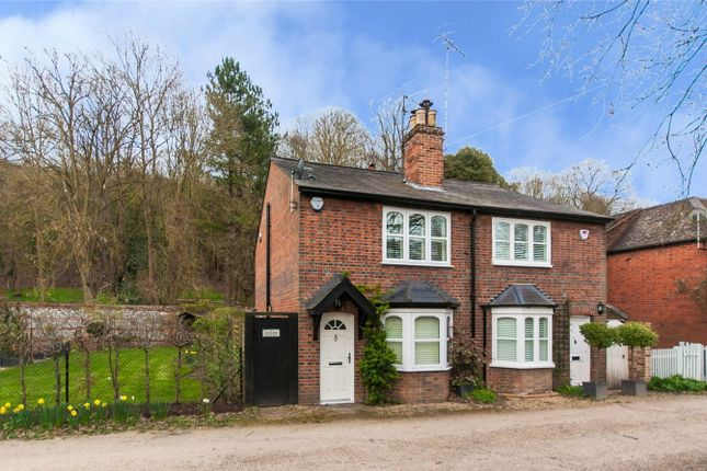 Thumbnail End terrace house for sale in Fairmile, Henley-On-Thames