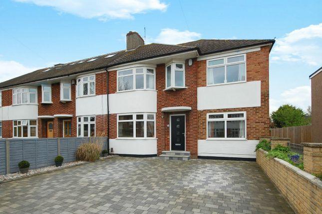 Thumbnail End terrace house for sale in Longford Close, Hampton Hill, Hampton
