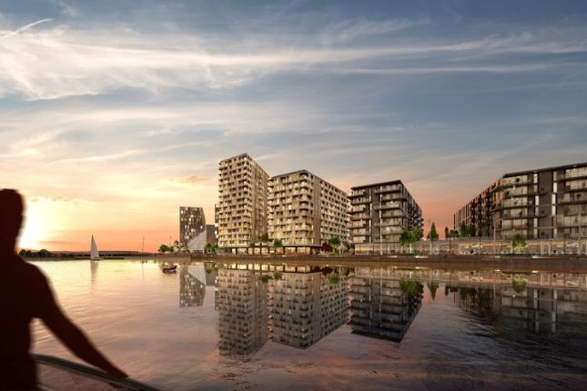 Thumbnail Flat for sale in X1 Chatham Waters Apartments, Pier Road, Kent