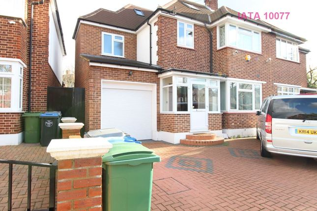 Thumbnail Semi-detached house for sale in Crundale Avenue, London