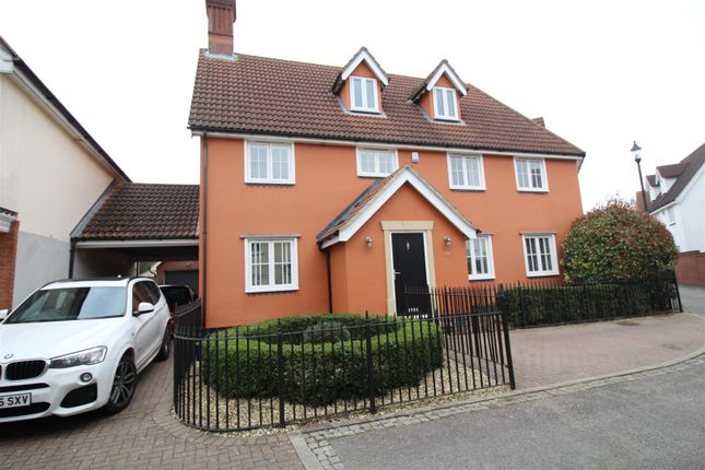 Thumbnail Link-detached house for sale in Armourers Close, Bishop's Stortford