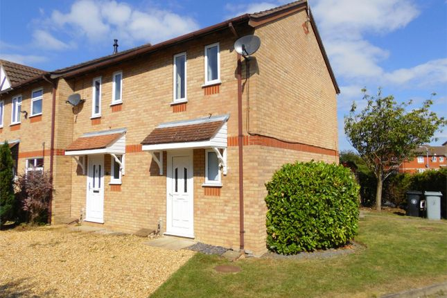 Thumbnail End terrace house to rent in The Brambles, Deeping St James, Peterborough, Lincolnshire